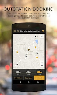 Vow Cabs - The Taxi App- screenshot thumbnail