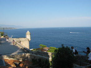 Photo: View on Mediterranean sea from Monaco-Ville