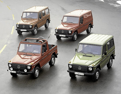The G-Wagen has been around in various military and civilian guises since 1979