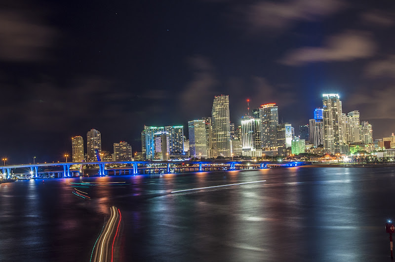 Miami by night di marchizio