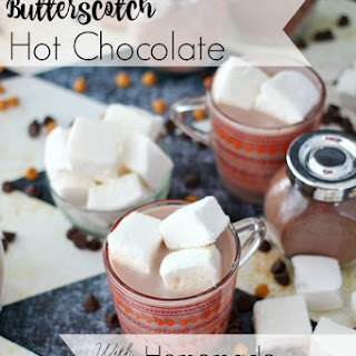 Butterscotch Hot Chocolate and Homemade Marshmallows.