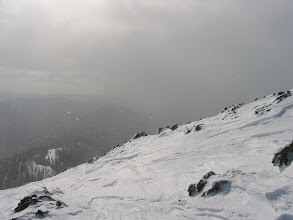 Photo: Prišli smo v pravi snežni metež.