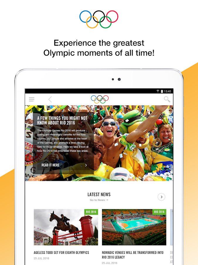 The Olympics - Official App- screenshot