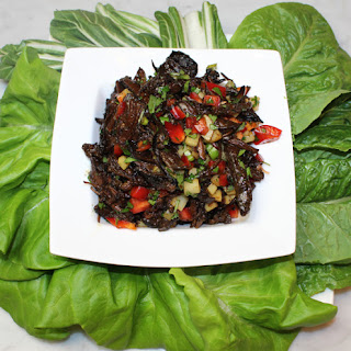 Teriyaki Short Rib Lettuce Wraps