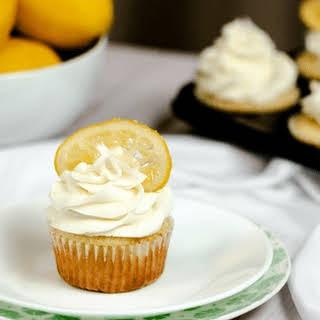 Lemon Vanilla Cupcakes.