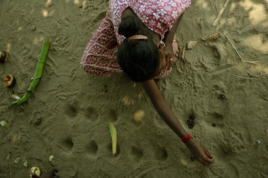 by Babu Raj - People Street & Candids ( village life, village girl, village games, nikon )