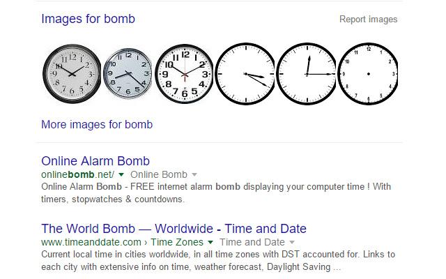 Clock To Bomb