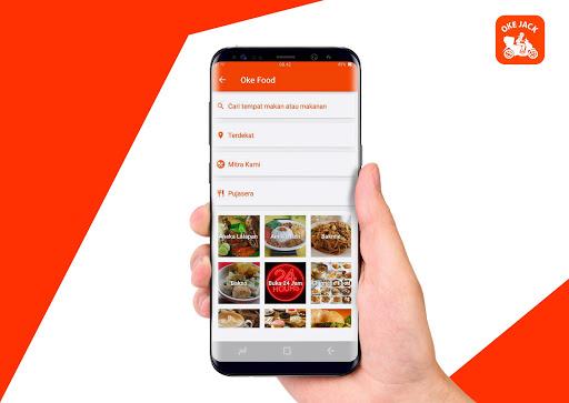 Oke Jack - Ojek Online, Pesan Makanan & Belanja 2.5.9 screenshots 1