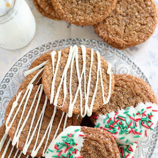 Big Chewy Ginger Molasses Cookies