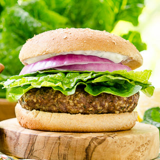 Turkish Beef Burger.