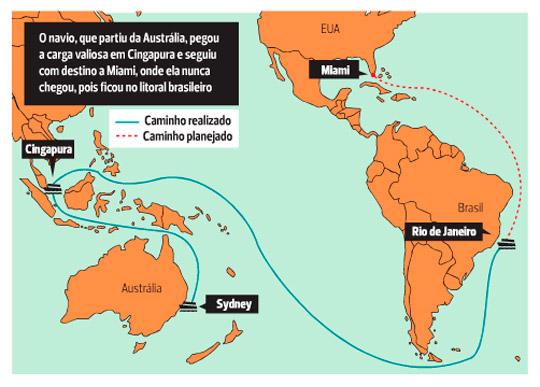 Verão da Lata, a origem: navio jogou toneladas de maconha no litoral brasileiro há 33 anos - 2