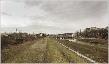 Photo: Turda - Str. Stefan cel Mare, vedere panorama de pe dig - 2019.02.21