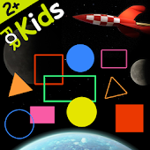 Shapes and Colors Space game