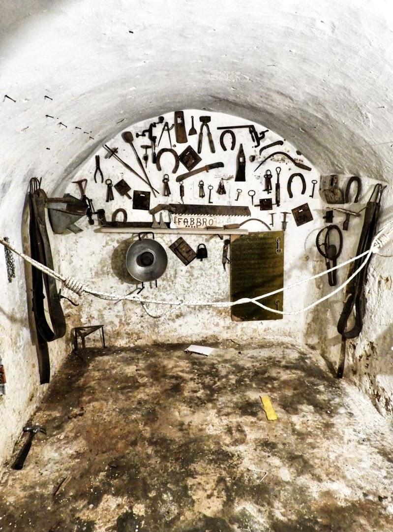 Bricolage di un antico fabbro di Capirizzo