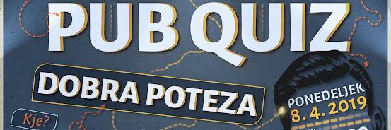 Pub Quiz - 8.4.2019