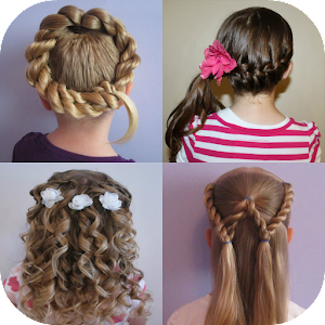 Pleasing Little Girls Hairstyles Android Apps On Google Play Hairstyle Inspiration Daily Dogsangcom