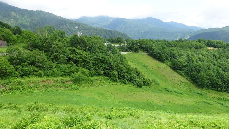 夏の八方尾根・スカイラインコース【黒菱林道】