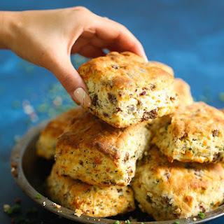 Sausage Cheese Biscuits.