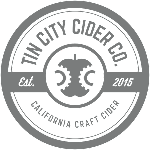 Logo for Tin City Cider Co.