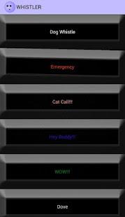 App The Whistler (Dog Like Whistle ,Cat Call...) APK for Windows Phone