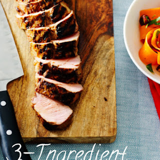 3 Ingredient Marinated Pork Tenderloin