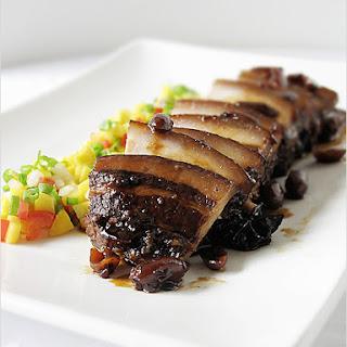 Braised Pork Belly or Filipino Humba.