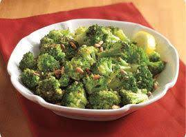 Roasted Broccoli With Lemon Garlic Butter