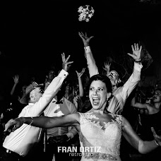 Wedding photographer Fran Ortiz (franortiz). Photo of 04.11.2017