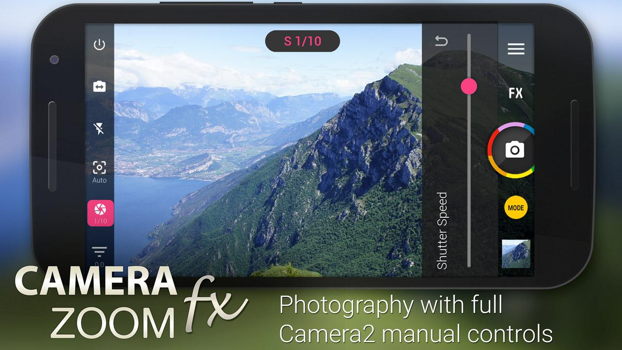 Camera ZOOM FX Premium: captura de pantalla