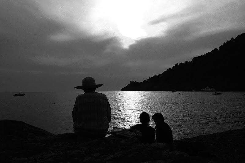 tramonto all'orizzonte di G.Papagno