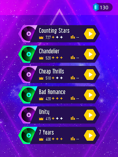 Screenshot for Tiles Hop: EDM Rush! in United States Play Store