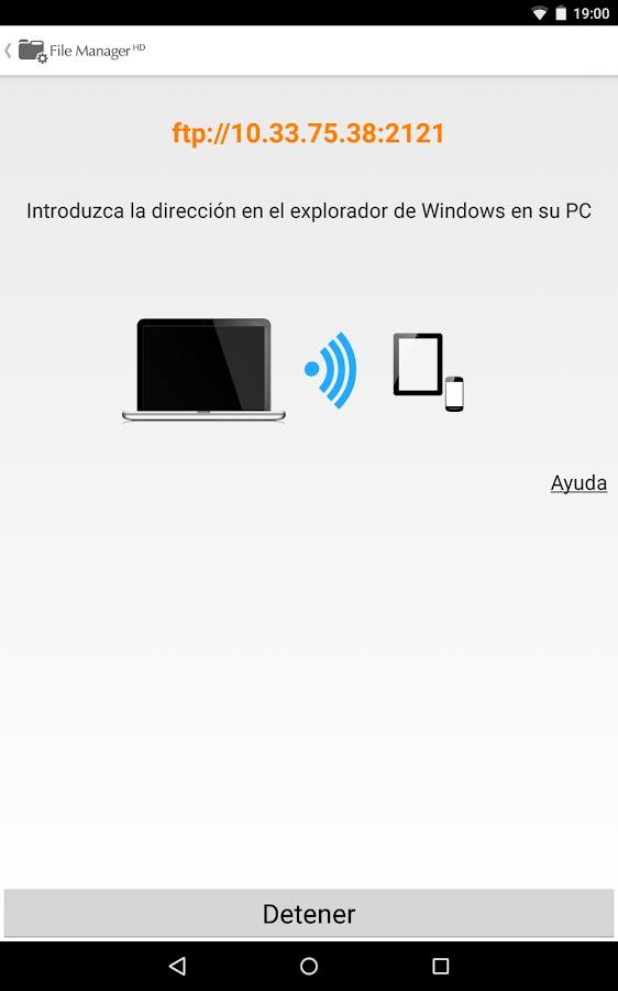 Gestor de Archivos HD - screenshot