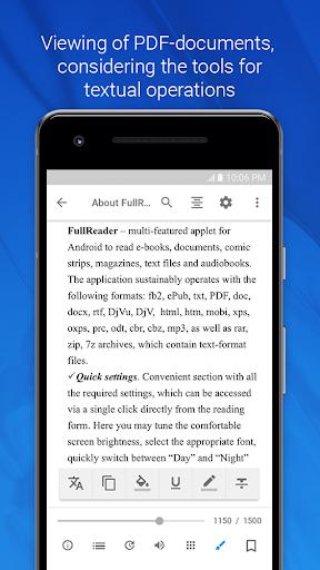 FullReader – e-book reader 4.0.7 screenshots 5