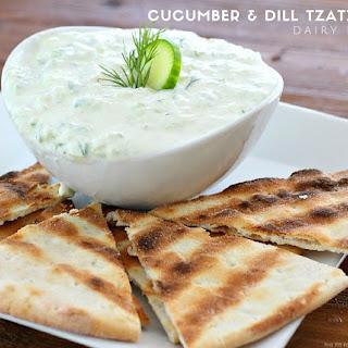 Cucumber & Dill Tzatziki Dip {Dairy Free}