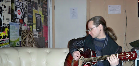 Photo: Laiko Sala guitarist and songwriter Andrius Abromavicius - Andy Abro