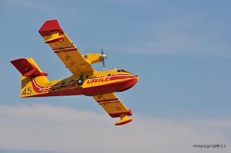 Photo: A noter, la dimension des volets et des ailerons !!!! la moitié de l'aile est mobile ....