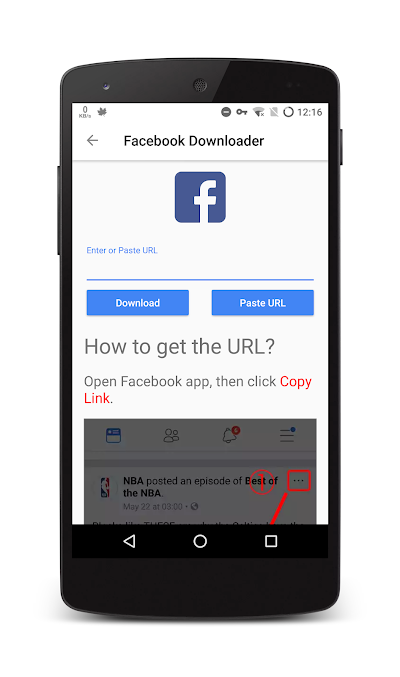 fb video downloader apk free