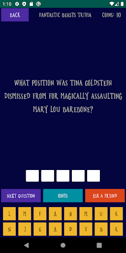 Quiz about the World of Harry Potter android2mod screenshots 6