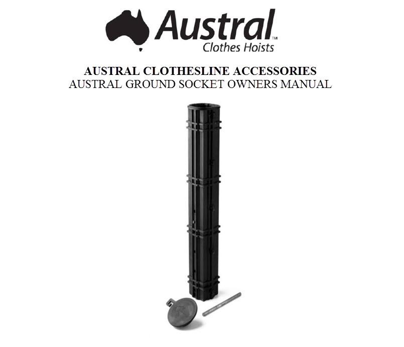 Austral Ground Socket Owners Manual GSKT