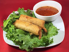 3. FRIED SHRIMP & PORK EGGROLLS/2 Pcs