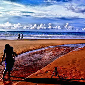 one day at the beach~ by Kay Eimza - Landscapes Weather