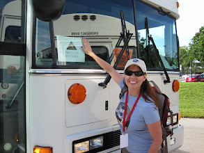 Photo: Boarding Bus #3 for the tour of KSC & Cape Canaveral.