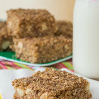 Cinnamon Apple Quinoa Breakfast Bars