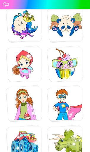 Glitter Coloring Book for Kids: Kids Games  screenshots 3