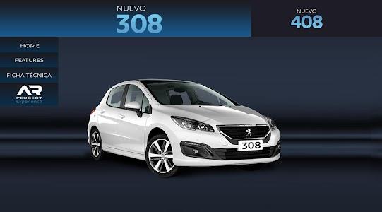 AR Peugeot Experience screenshot 2