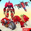 Grand Robot Lion Transform Simulator icon
