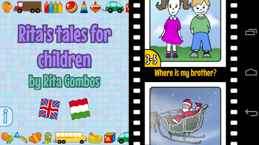 Rita's tales for children screenshot 2