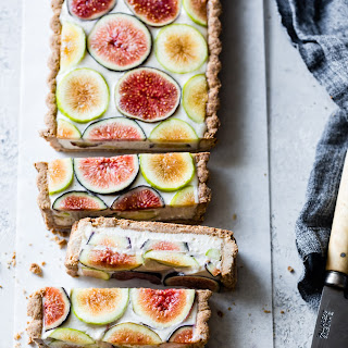 Ginger Fig Tart with Chestnut-Almond Crust {Vegan & Gluten-Free} Recipe