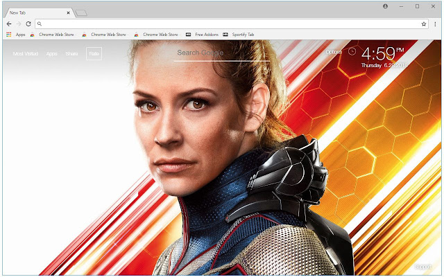 Ant Man and the Wasp HD Wallpapers New Tab