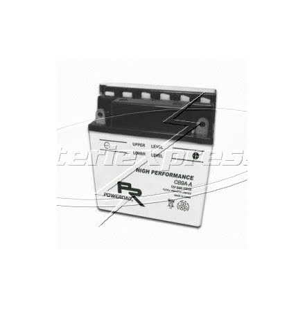 YB9A-A, MC Vätskebatteri 9Ah